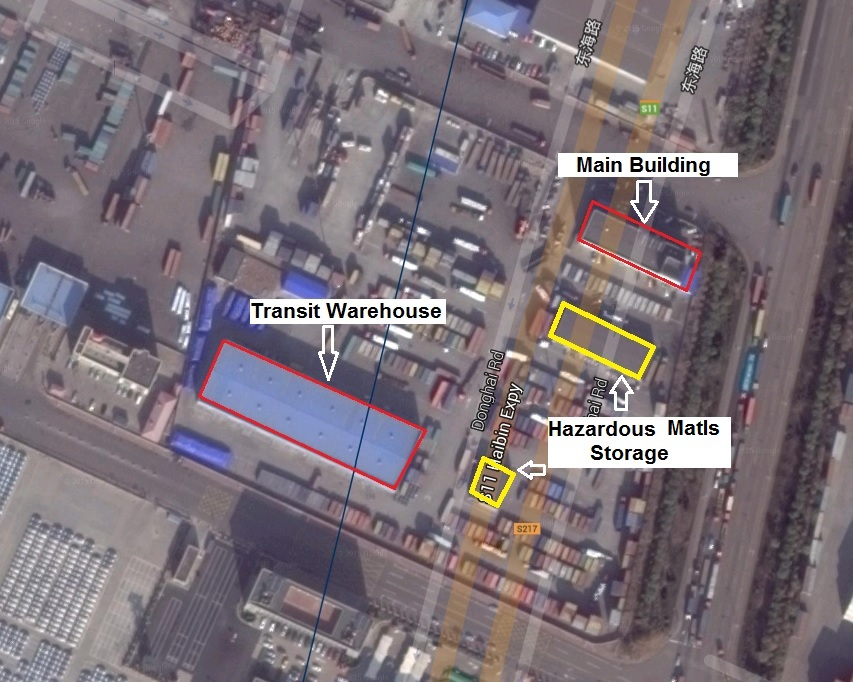 Locating the Tianjin Explosion Using Online Maps Center for